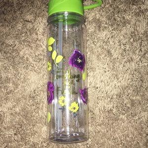 NWT floral Hallmark water bottle